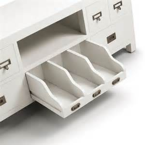 meuble tv blanc design meuble pour t 233 l 233 vision