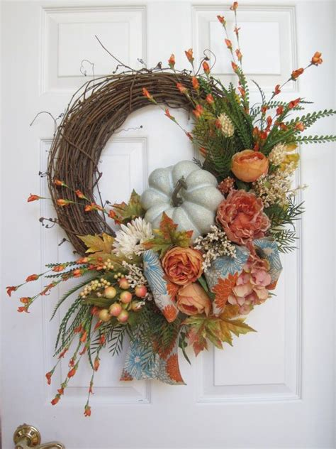 grapevine floral design home decor the 25 unique fall wreaths ideas on pinterest fall door