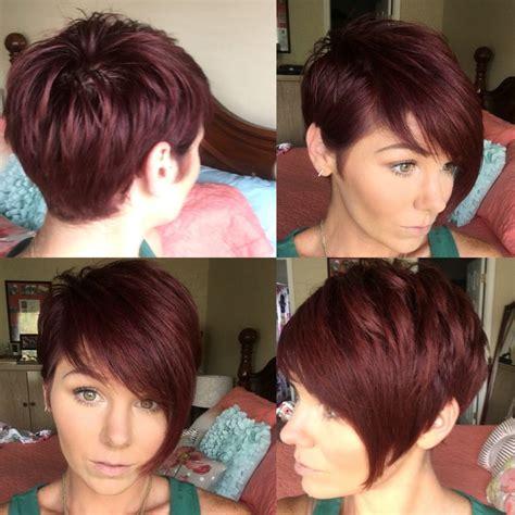 red hair pixie cut hairstylesinspiration hair cuts