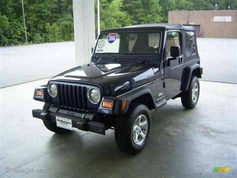 midnight blue jeep 2006 midnight blue pearl jeep wrangler x 4x4 17548114