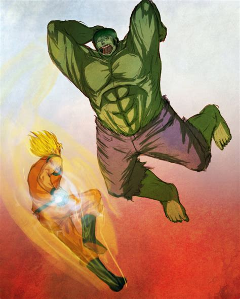 imagenes de goku vs hulk torneo de superh 233 roes taringa