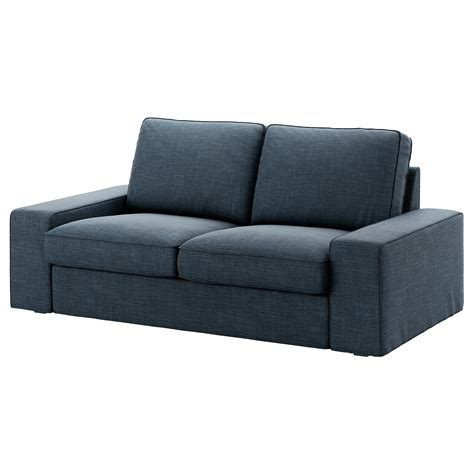ikea two seat sofa kivik two seat sofa hillared dark blue ikea