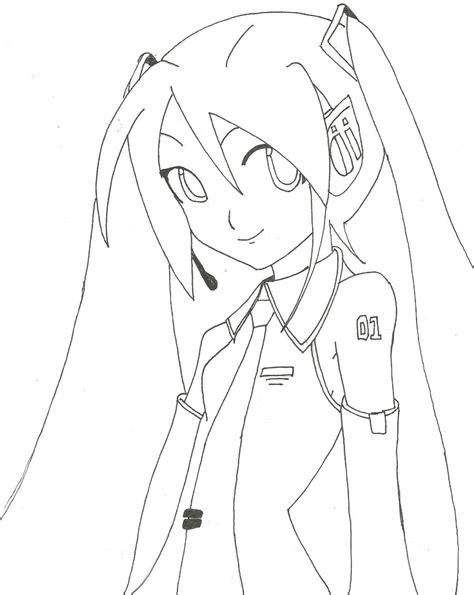 imagenes de hatsune miku kawaii para colorear dibujos de miku hatsune para calcar imagui