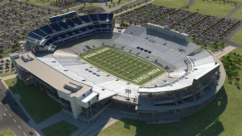 penn state stadium seating penn st football venue by iomedia