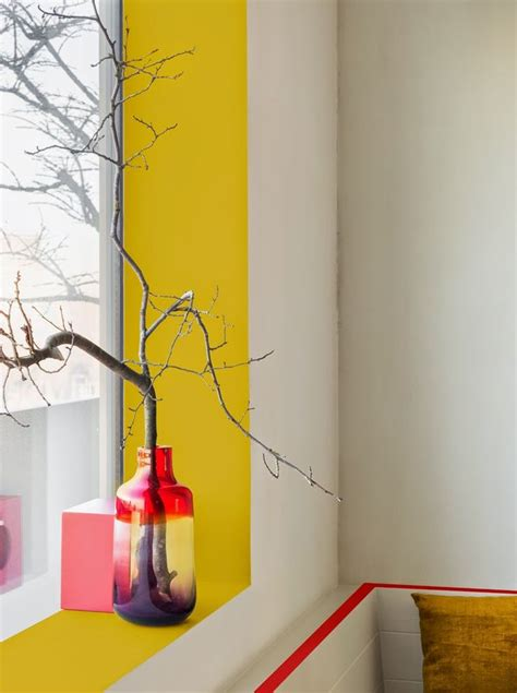 Window Sill Paint Add A Pop Of Color By Painting The Window Sill And
