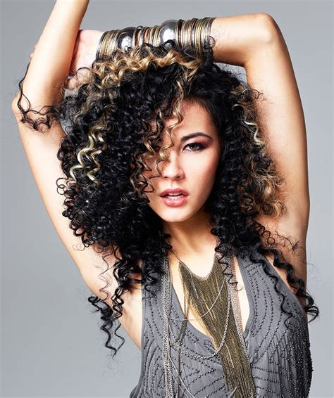 hairstyles curled in a circle hairstyles curled in a circle a long black hairstyle from