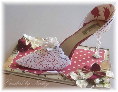 Nicky P Papercrafts - 17 best images about paper shoes on 3d paper