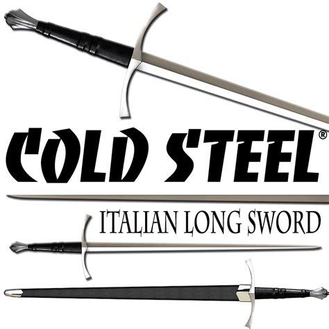 cold steel italian longsword review cold steel italian sword