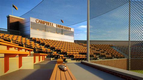 Residential Interior Design by Campbell University Football Baseball Stadium Projects