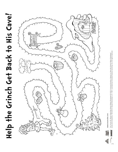 Grinch Coloring Pages Games | 138 best christmas the grinch images on pinterest