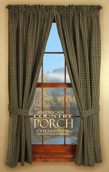 country porch curtains salem tieback curtain panels