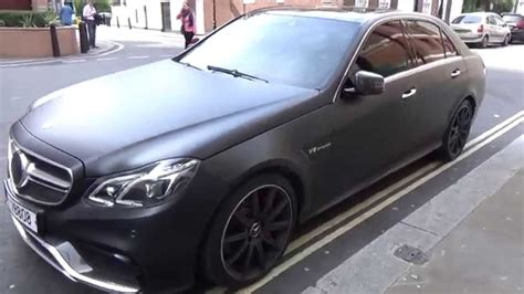 matt mercedes matt black mercedes e63 amg in
