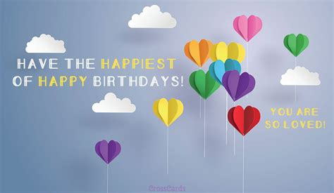 Find For Free By Name And Birthday Free The Happiest Birthday Ecard Email Free Personalized Birthday Cards