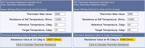 ntc thermistor calculator ntc resistance to temperature calculator 28 images temperature measurement with ntc