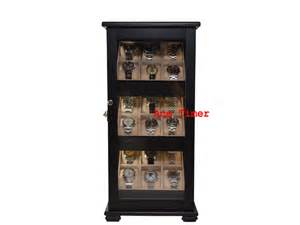 Display Cases For Sale In Orange County 18 Black Lacquer 360 Degree Stand Display Fit
