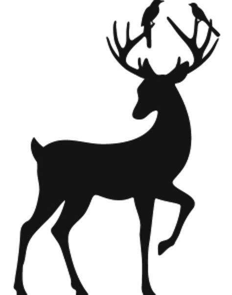 animal silhouette stencil reindeer silhouette stencil 42 best wordificator word art images on pinterest word