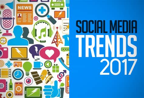 trends in 2017 10 social media trends for 2017 articles graphic