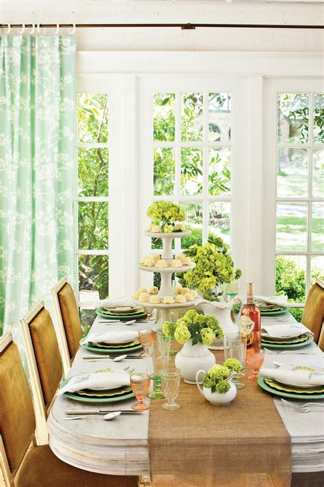 casual table setting ideas book club table setting southern living