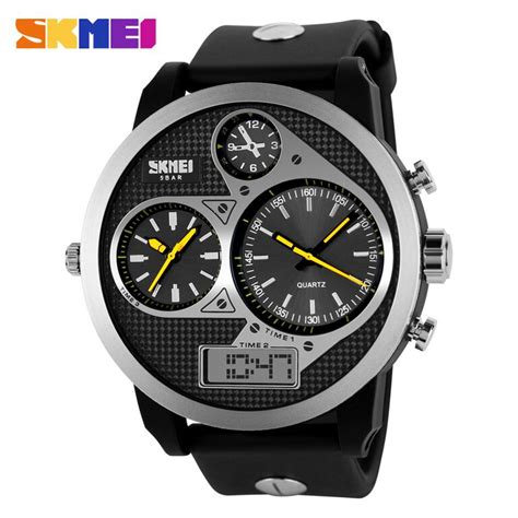 Promo Skmei Casio Sport Led Water Resistant 50m Ad1117 skmei casio sport led water resistant 50m ad1033 yellow jakartanotebook
