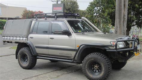 nissan patrol gu dual cab roof racks