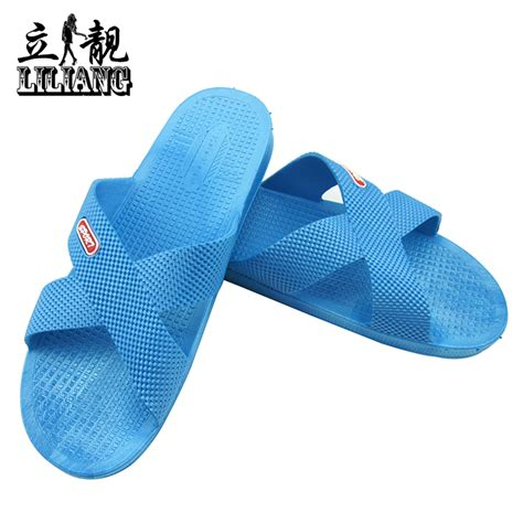 men s bathroom slippers soft outsole slippers summer men and women home bathroom