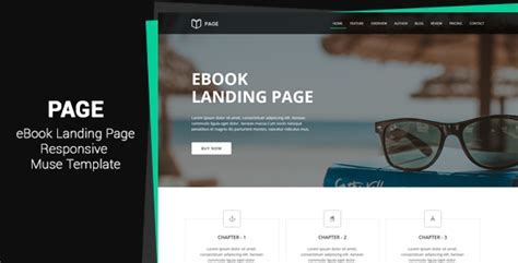 ebook templates for pages page ebook landing page muse template download page