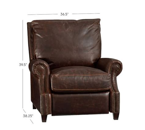 Pottery Barn Recliner by Leather Recliner Pottery Barn