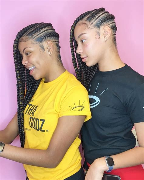 lemonade braids style 05 hair style black girls and 883 likes 6 comments overlooked 2 overbooked braid