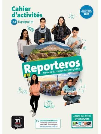 libro italien 3e lv2 14 15 reporteros a1 espagnol 3e cahier expressbouticscolaire