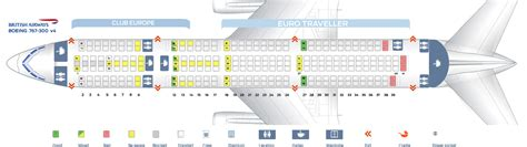 boeing 767 floor plan seat map boeing 767 300 british airways best seats in plane