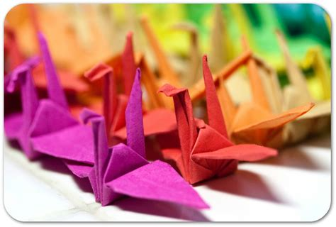 Children S Paper Folding - national craft month origami paper folding for