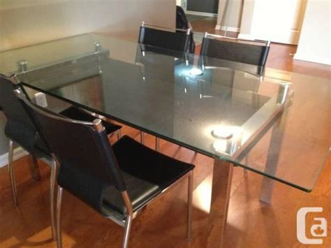 chairs for sale edmonton konto glass dining table and bouclair chairs for sale in