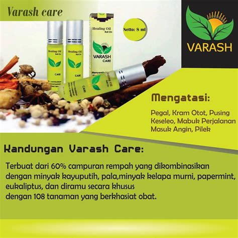 Minyak Varash varash care minyak varash care roll on