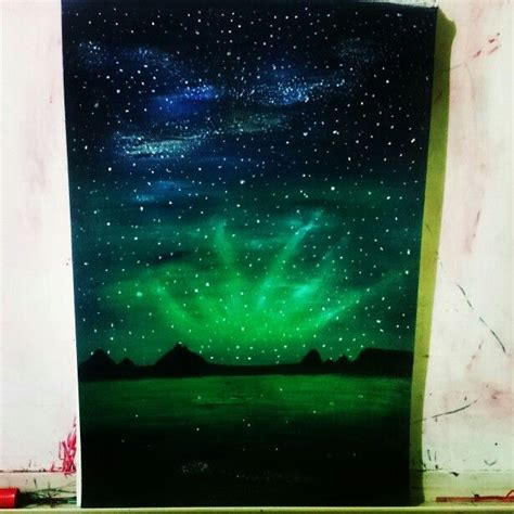 acrylic painting northern lights 85 best images about paintings on easy canvas