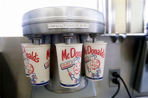 mcdonalds values   man  built  brand