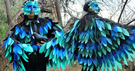mark montano halloween bird costume