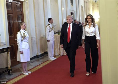 trump gold room vote for your favorite presidential room donald and melania share rare kiss at mother s day event