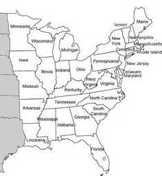 us east coast map printable so i teach ctr 4 4 5 years and this was the