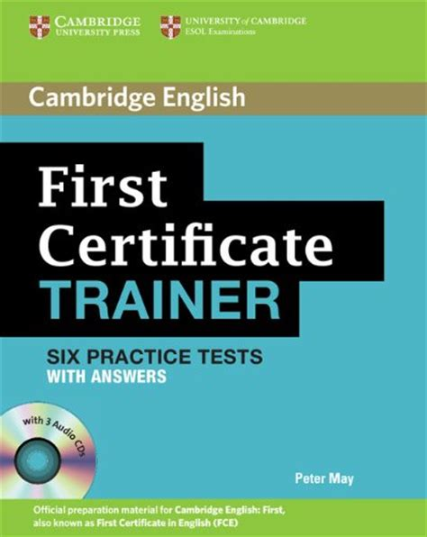 libro the answers book for cambridge vocabulary for first certificate with answers per le scuole superiori con cd audio