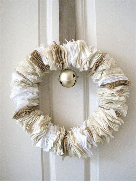 wreaths diy diy felt wreath