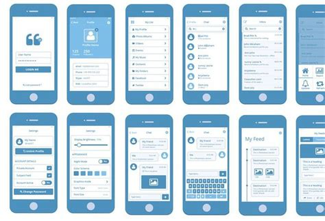 30 free web and mobile wireframe templates big thing
