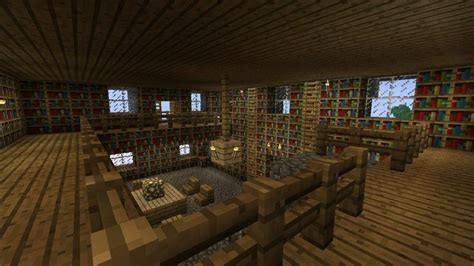 Minecraft Interior Design Minecraft Interior Design Library I Like The Different Levels Interior Design