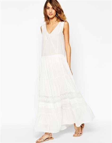 Asos Robe Blanche Courte - longue robe blanche boheme la mode des robes de
