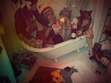 party in the bathtub wild party girl quotes quotesgram