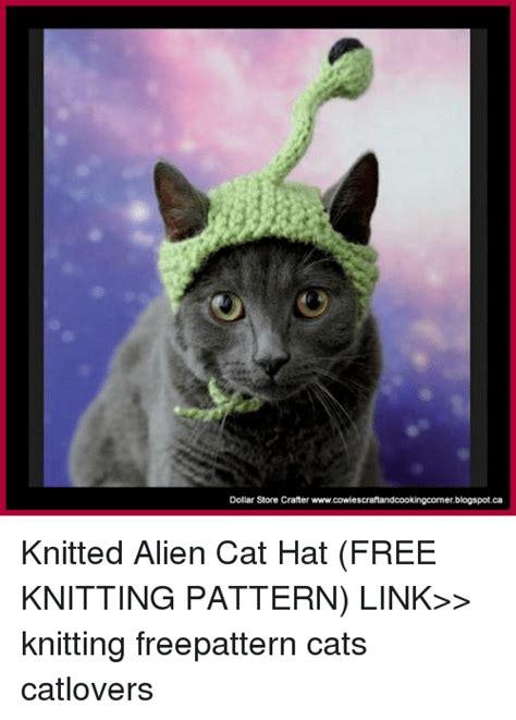 Cat Alien Meme - dollar store crafter
