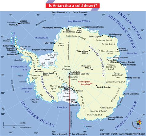 map of antarctica is antarctica a cold desert answers