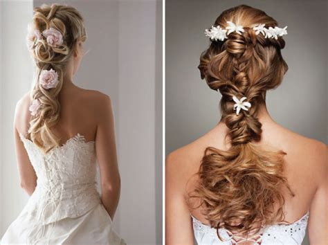 Geflochtene Haare Hochzeit by Wedding Hair Braid Popular Haircuts