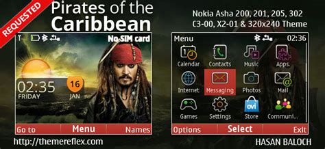 live themes for asha 200 pirates of the caribbean live theme for nokia c3 00 x2 01