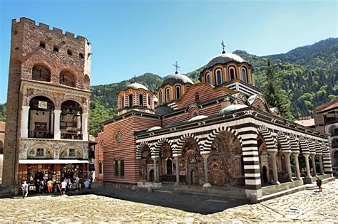 PHOTO: Hrelyu Tower at Rila Monastery, Bulgaria