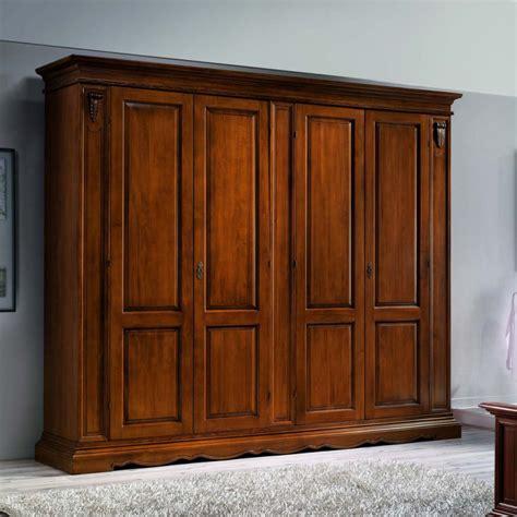 cassettiera armadio armadio 4 ante con cassettiera